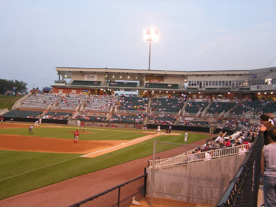 Looking in from Left Field - Pringles Park