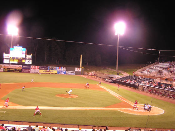 Nightfall at Pringles Park - Jackson, Tennessee